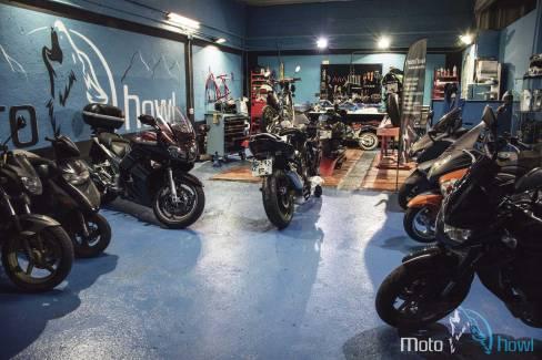 Taller de motos Motohowl