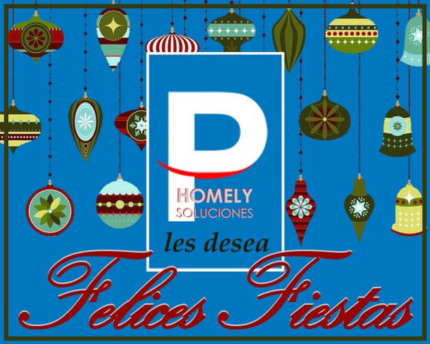 Aparcamientos HOMELY les desea unas ¡¡¡Felices Fiestas!!!